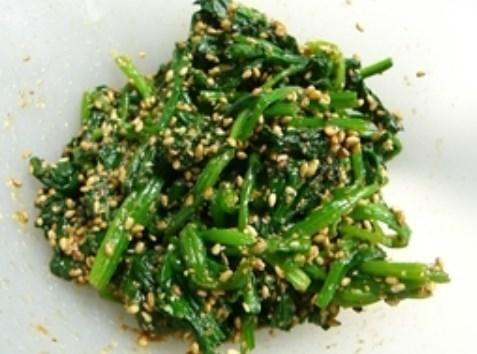 お弁当の定番❤ほうれん草の胡麻和え♪