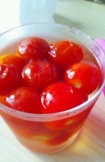 お弁当にぴったり★ミニトマトのピクルス
