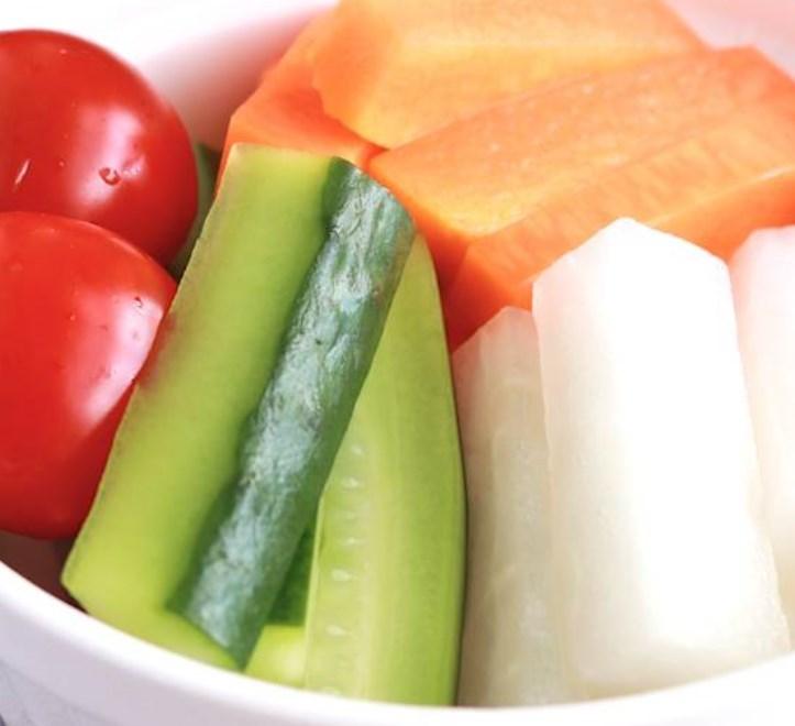 カラフル野菜の即席ピクルス レシピ・作り方