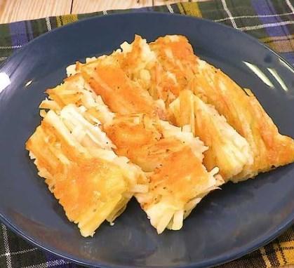 じゃがいものカリカリチーズ焼き