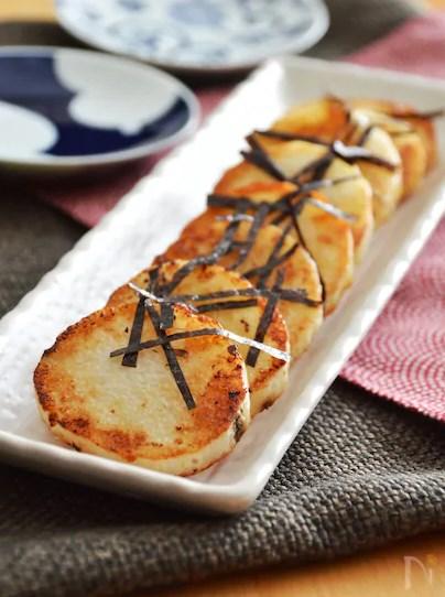 長芋のバター醤油焼き。フライパンで焼くだけ簡単!おつまみに♪