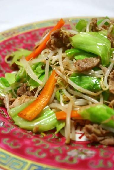 基本の野菜炒め