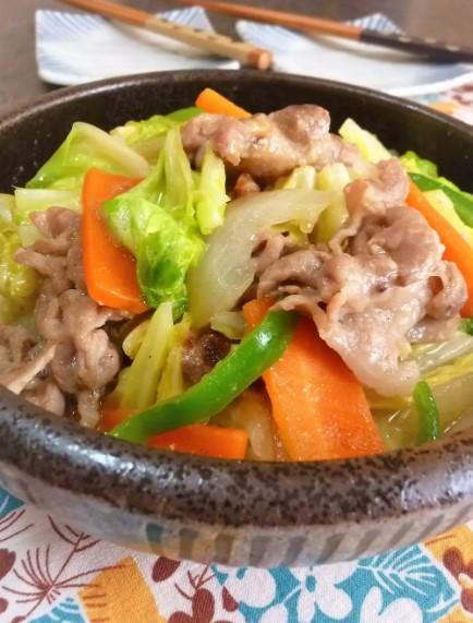 ✜味噌ちゃんぽん野菜炒め✜