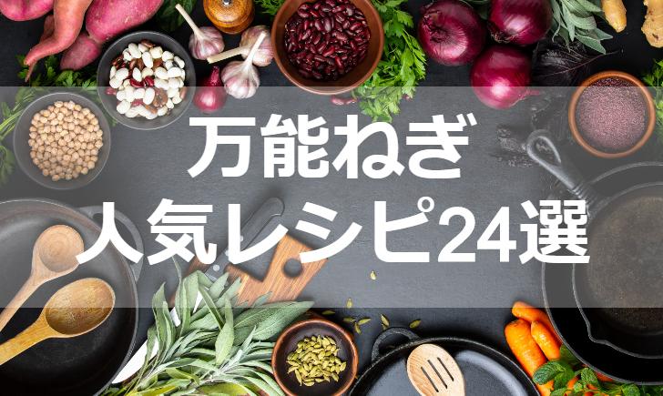 万能ねぎ人気レシピ【厳選24品】クックパッド殿堂1位・つくれぽ1000超も掲載中!