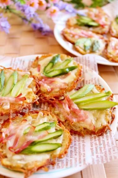 春野菜のおつまみガレット