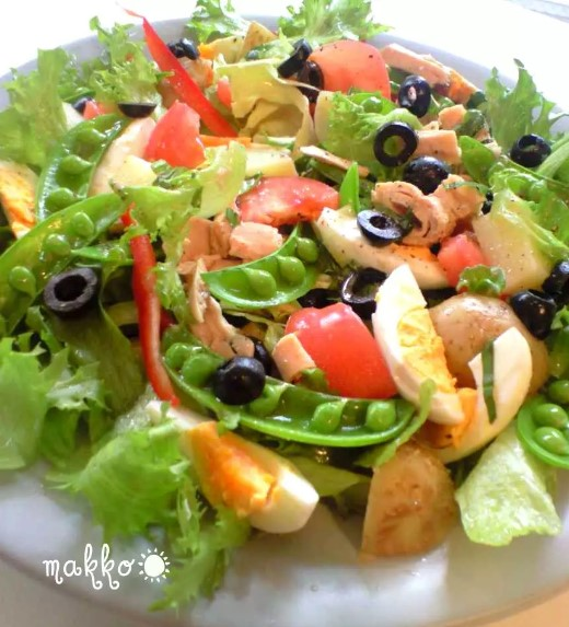 春野菜で~ニース風サラダ~