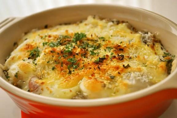 里芋のチーズグラタン♪