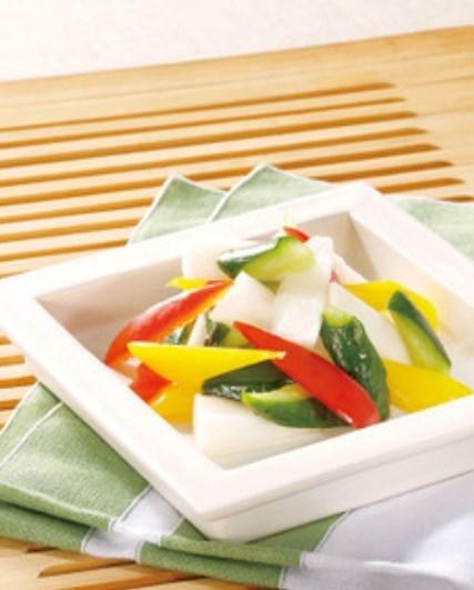 彩り野菜の白だし浅漬け