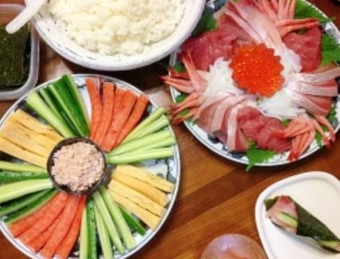 手巻き寿司☆パーティー レシピ・作り方