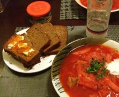 ボルシチ * 本場ロシア家庭の味