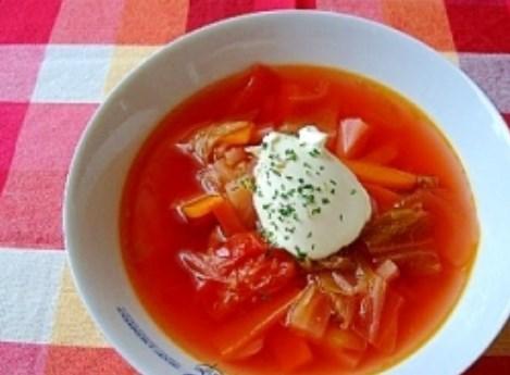 ロシア人の先生に教わった ボルシチ レシピ・作り方