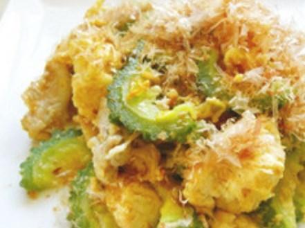 簡単♪豆腐と卵がふわっとゴーヤチャンプル