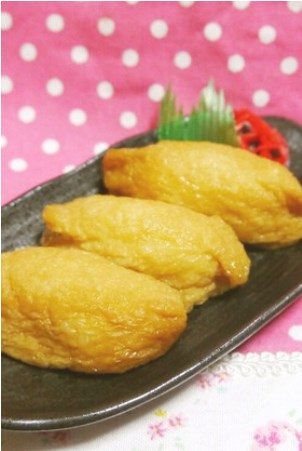 調味料2つ☆超簡単♪うちの絶品いなり寿司