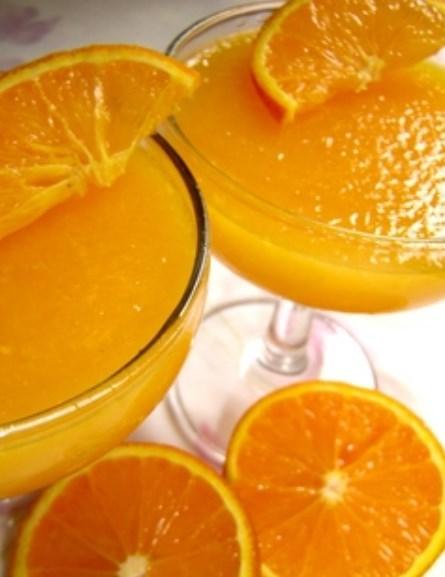 レンジで簡単♪フレッシュオレンジゼリー