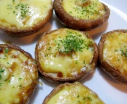 うまっ!☆しいたけのチーズ焼き☆ レシピ・作り方