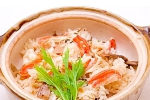 かにご飯 レシピ・作り方