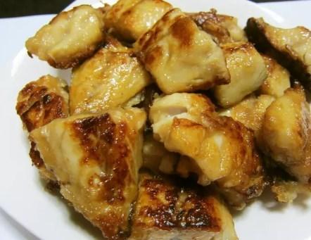 塩サバのうまうまパリパリ焼き