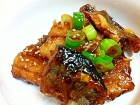 ご飯が進みますよ☆ぜっぴん秋刀魚の甘辛揚げ煮 レシピ・作り方