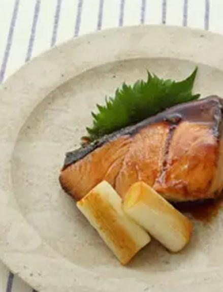 ぶりのぽん酢焼き