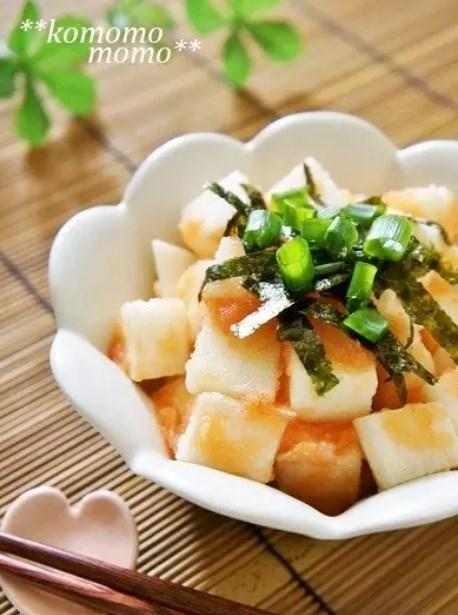 ◆コロコロ長芋の明太子和え◆