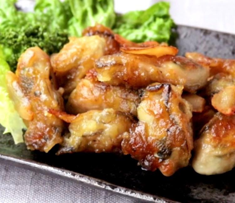 旨みたっぷり 牡蠣のガーリックソテー レシピ・作り方