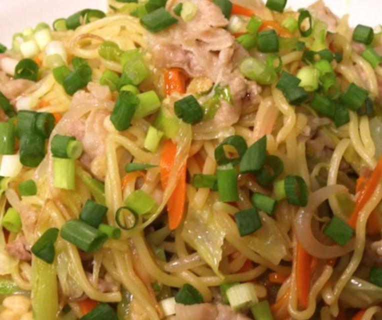 たっぷり野菜の塩焼きそば レシピ・作り方