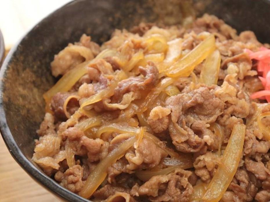 旨みたっぷり つゆだく牛丼 レシピ・作り方
