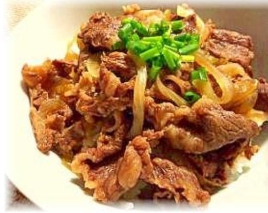 ♪♪吉●家より美味しい?ツユだく吉野家風牛丼♪♪ レシピ・作り方