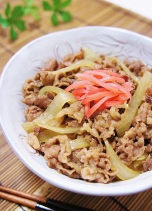 お肉ふっくら柔らか◆牛丼◆
