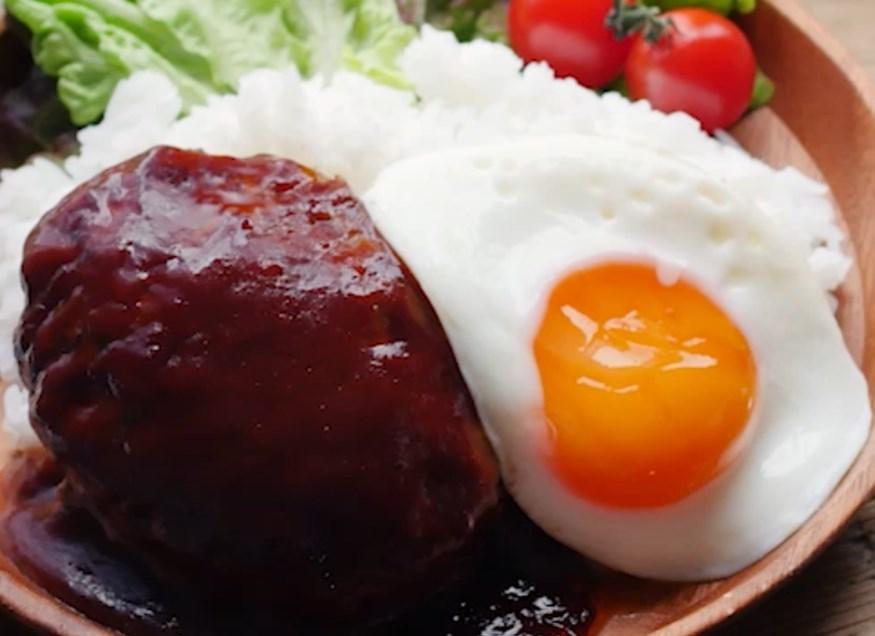 ソースも手作り!「ロコモコ丼」の基本レシピ